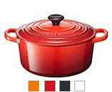 LE CREUSET (ル・クルーゼ)  シグニチャー ココット・ロンド 24cm